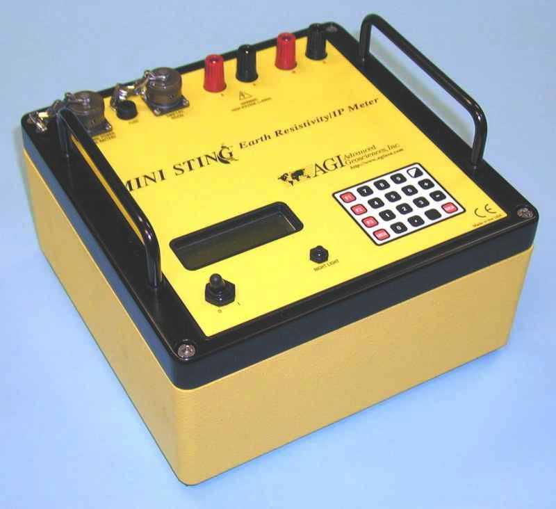 Electrical Resistance Meter : Resistivity ip equipment hgi hydrogeophysics